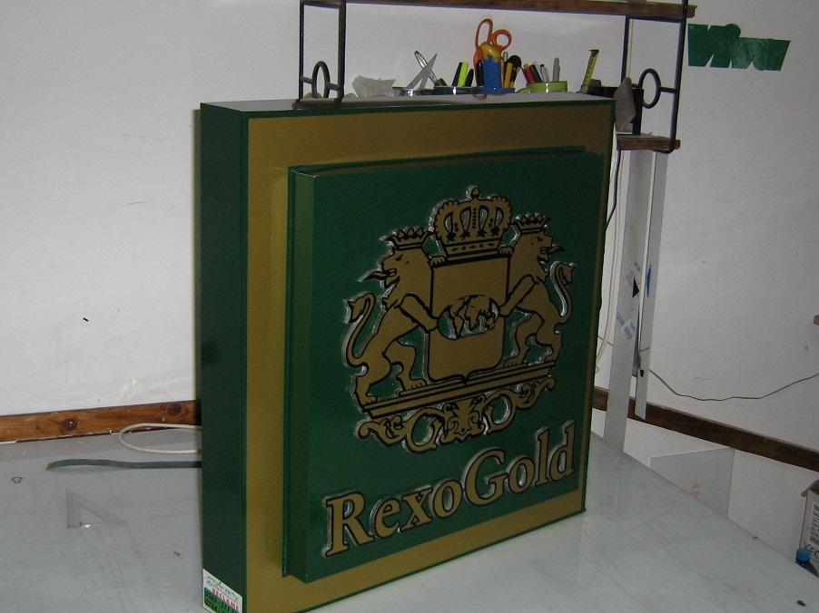 CASETE SI FIRME LUMINOASE Rexo Gold
