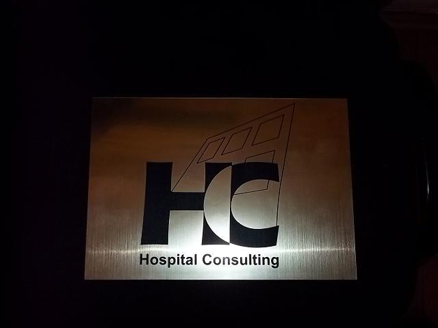 GRAVURA LASER MECANIC Hospital Consulting