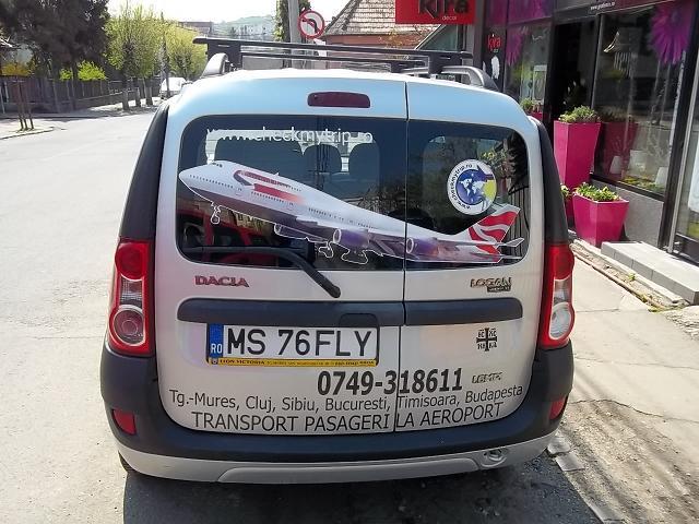 INSCRIPTIONARI VITRINE SI DECOR AUTO Avion