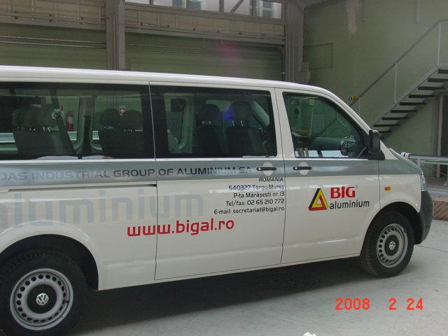 INSCRIPTIONARI VITRINE SI DECOR AUTO Big Aluminium