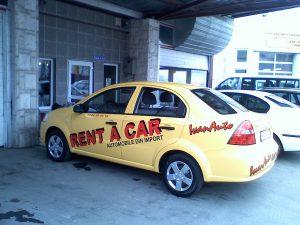 INSCRIPTIONARI VITRINE SI DECOR AUTO Rent a car (2)