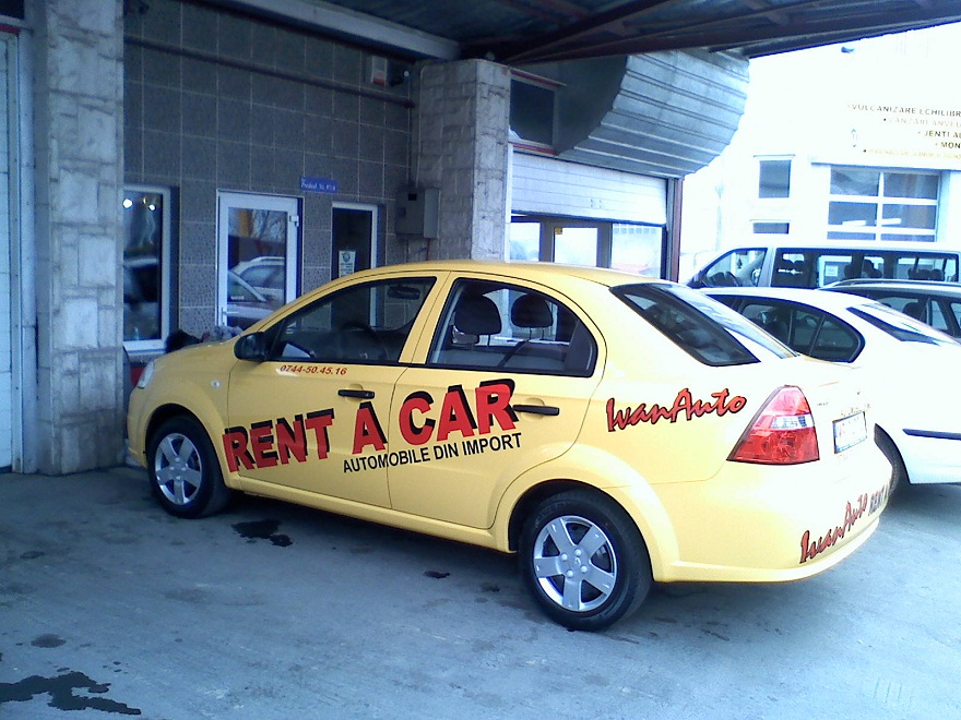 INSCRIPTIONARI VITRINE SI DECOR AUTO Rent a car (2)