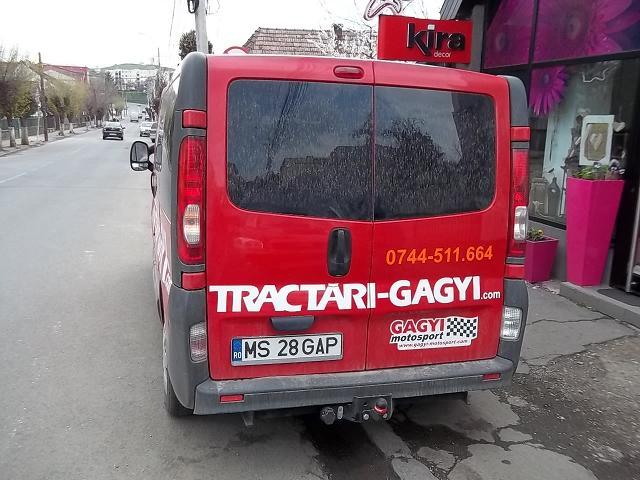 INSCRIPTIONARI VITRINE SI DECOR AUTO Tractari Gagyi
