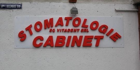 LITERE DIN POLISTIREN Cabinet Stomatologie