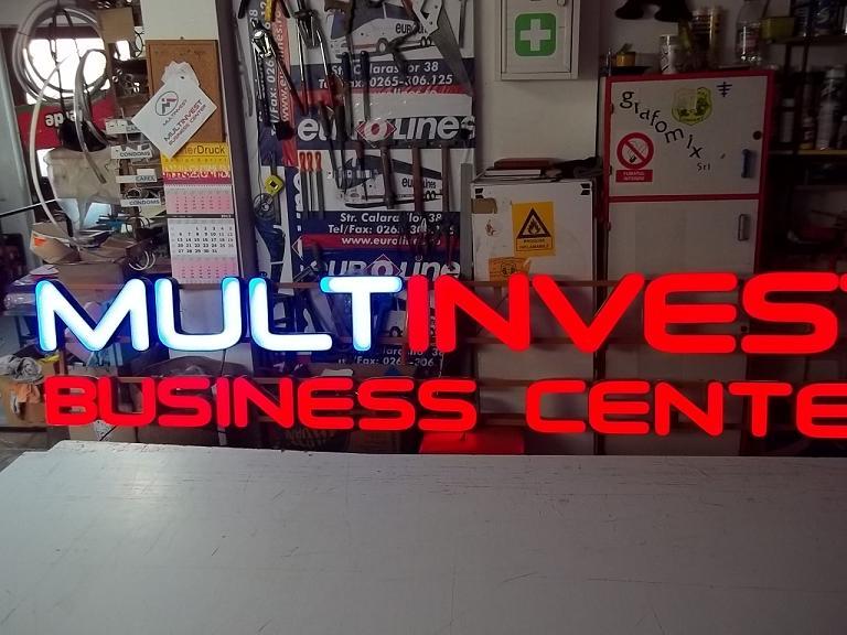 LITERE VOLUMETRICE LUMINOASE Multinvest