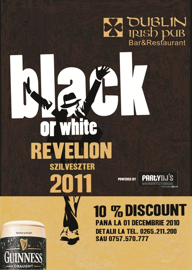 PRINTURI SI BANNERE Black or White Revelion