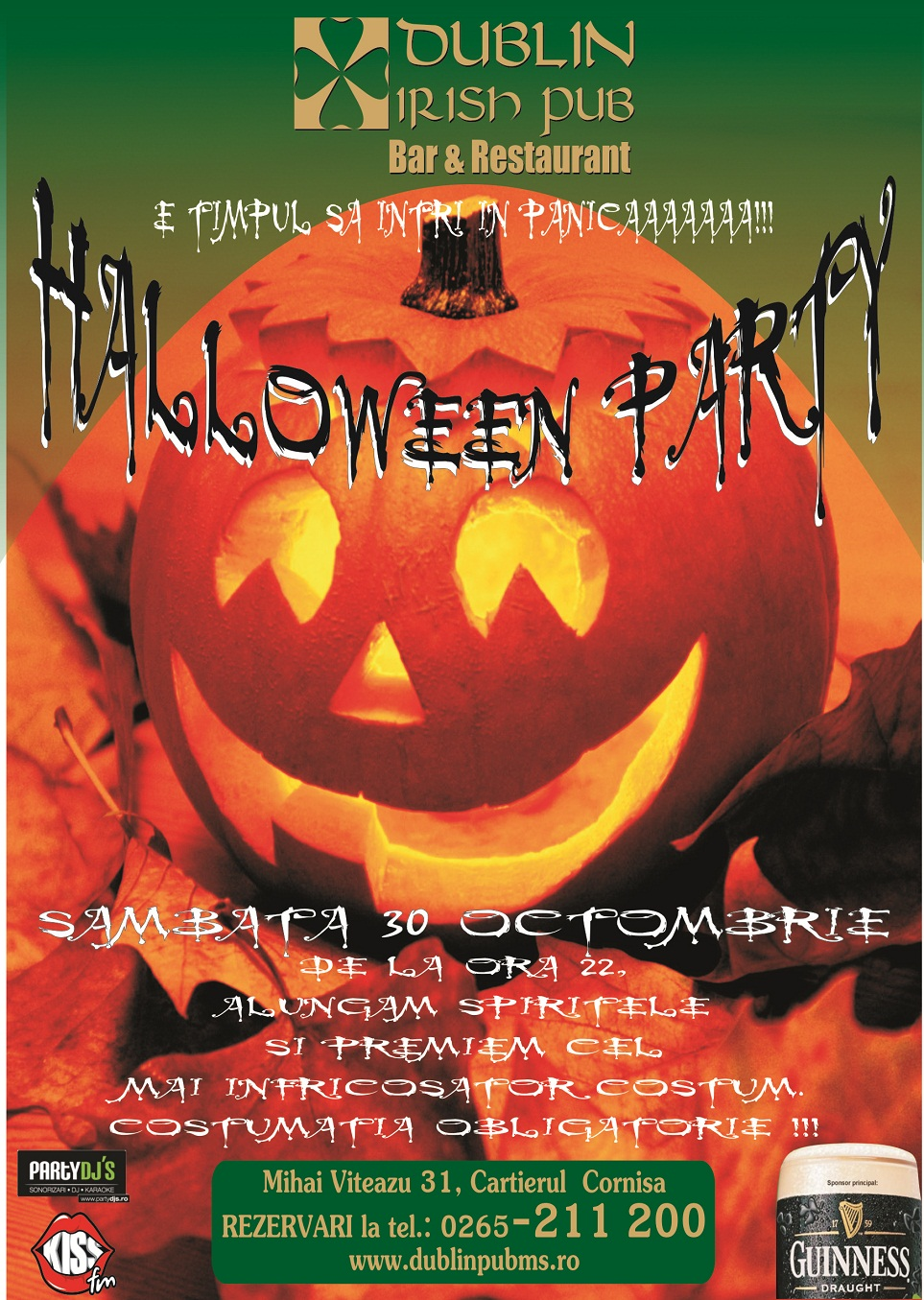 PRINTURI SI BANNERE Halloween Party